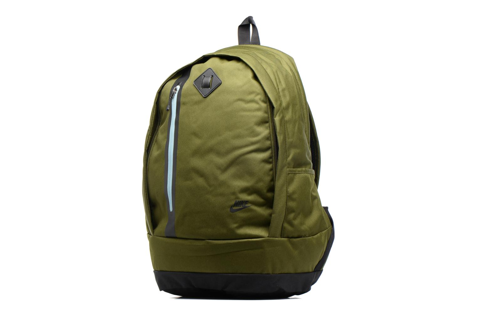 Sacs à dos Nike Men's Nike Cheyenne 3.0 Solid Backpack Vert vue portées chaussures