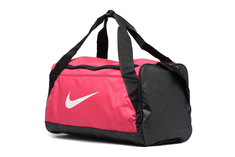 Sacs de sport Nike Nike Brasilia Training Duffel Bag S Noir vue portées chaussures