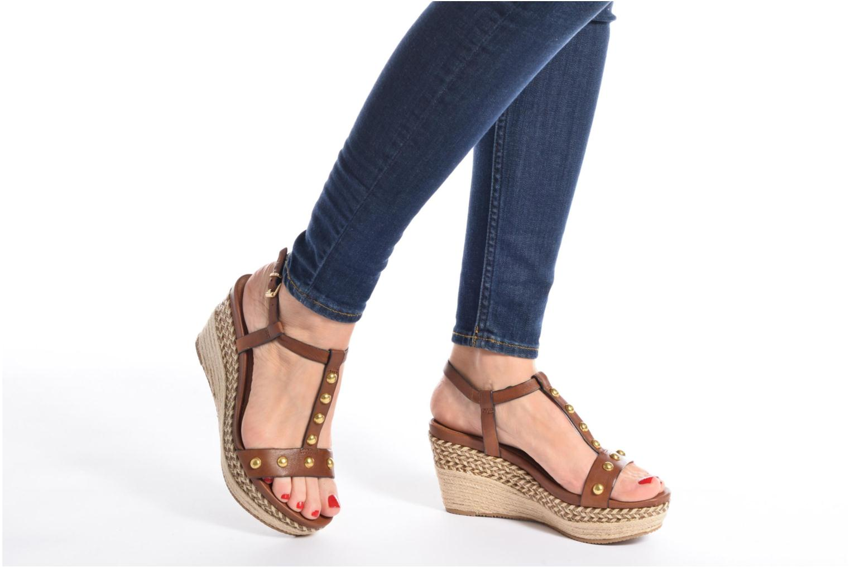 Sandali e scarpe aperte Tamaris Linnia Marrone immagine dal basso