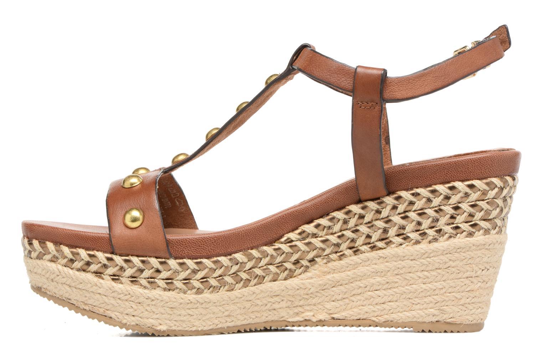Sandali e scarpe aperte Tamaris Linnia Marrone immagine frontale
