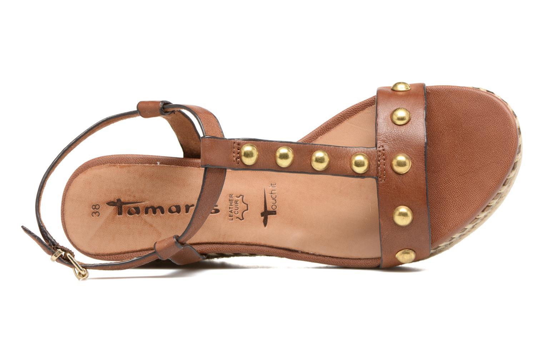 Sandali e scarpe aperte Tamaris Linnia Marrone immagine sinistra