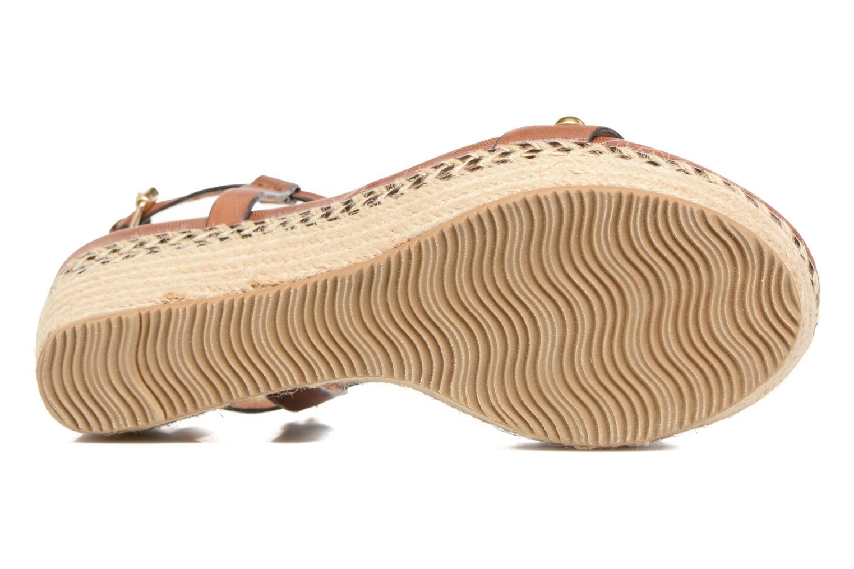 Sandali e scarpe aperte Tamaris Linnia Marrone immagine dall'alto