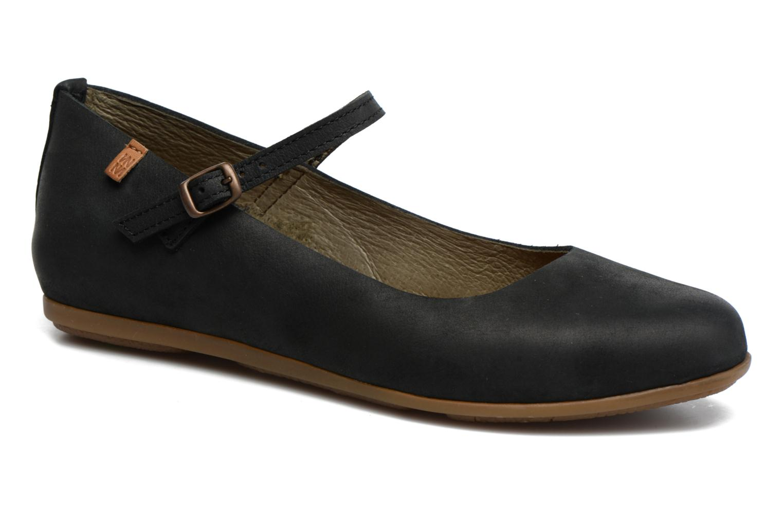 Grandes descuentos últimos zapatos El Naturalista Stella ND58 (Negro) - Bailarinas Descuento