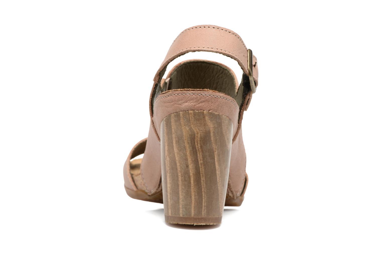 Sandales et nu-pieds El Naturalista Kuna N5020 Beige vue droite