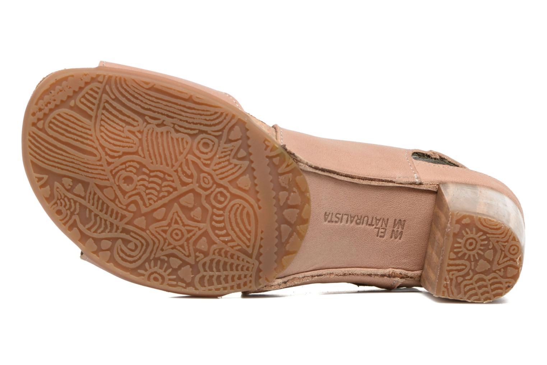 Sandales et nu-pieds El Naturalista Kuna N5020 Beige vue haut