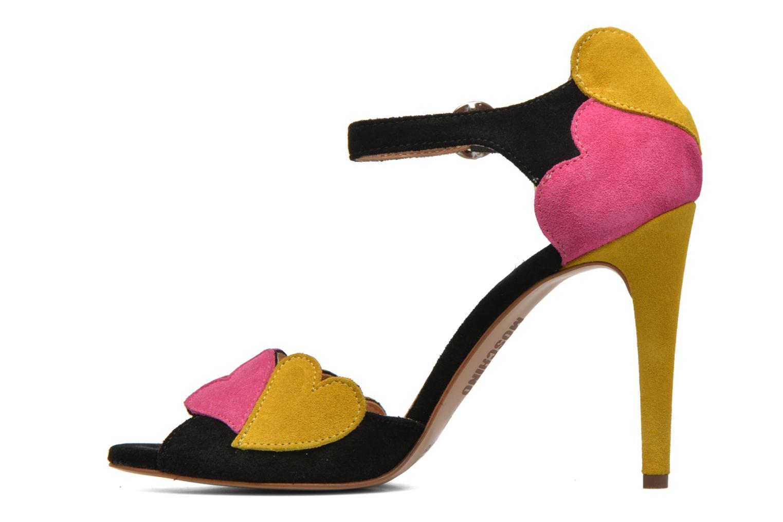 Sandales et nu-pieds Love Moschino Heart Shaped Sandals Multicolore vue face