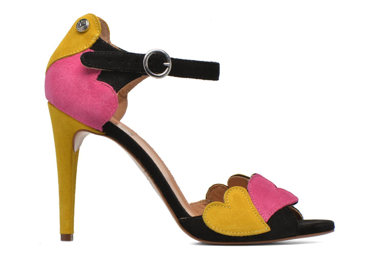 Sandales et nu-pieds Love Moschino Heart Shaped Sandals Multicolore vue derrière