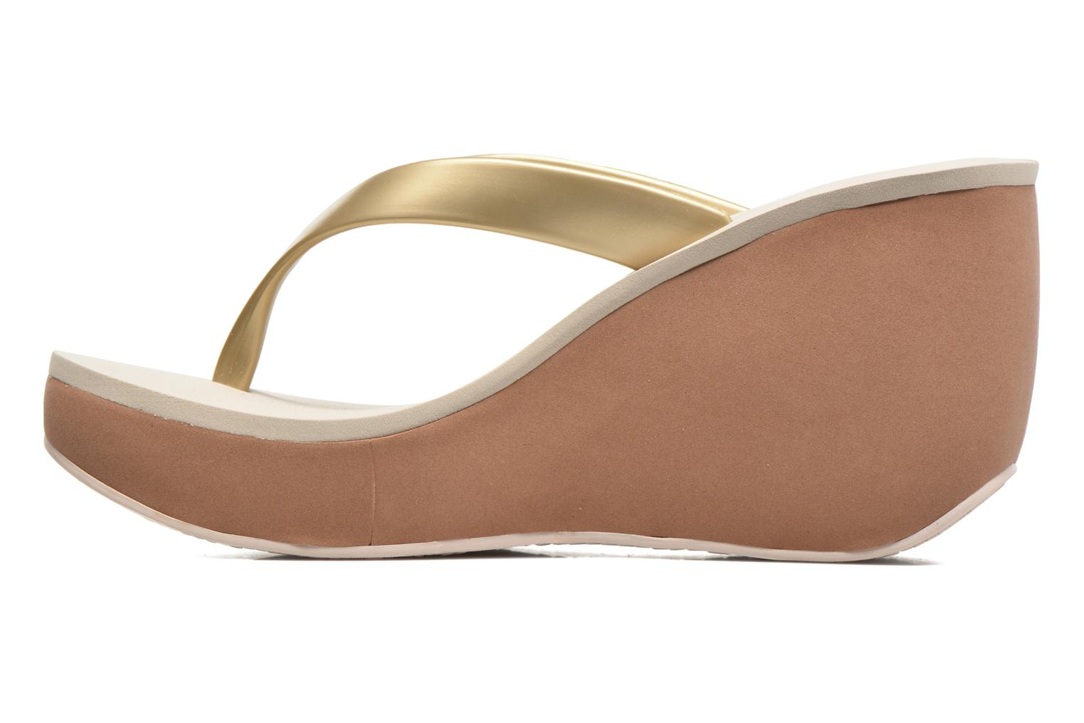 Flip flops Ipanema Lipstick Thong V Beige front view