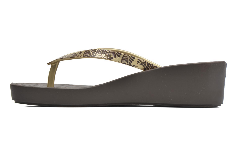 Flip flops Ipanema Art Deco III Brown front view