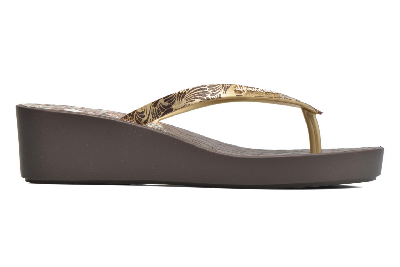 Flip flops Ipanema Art Deco III Brown back view