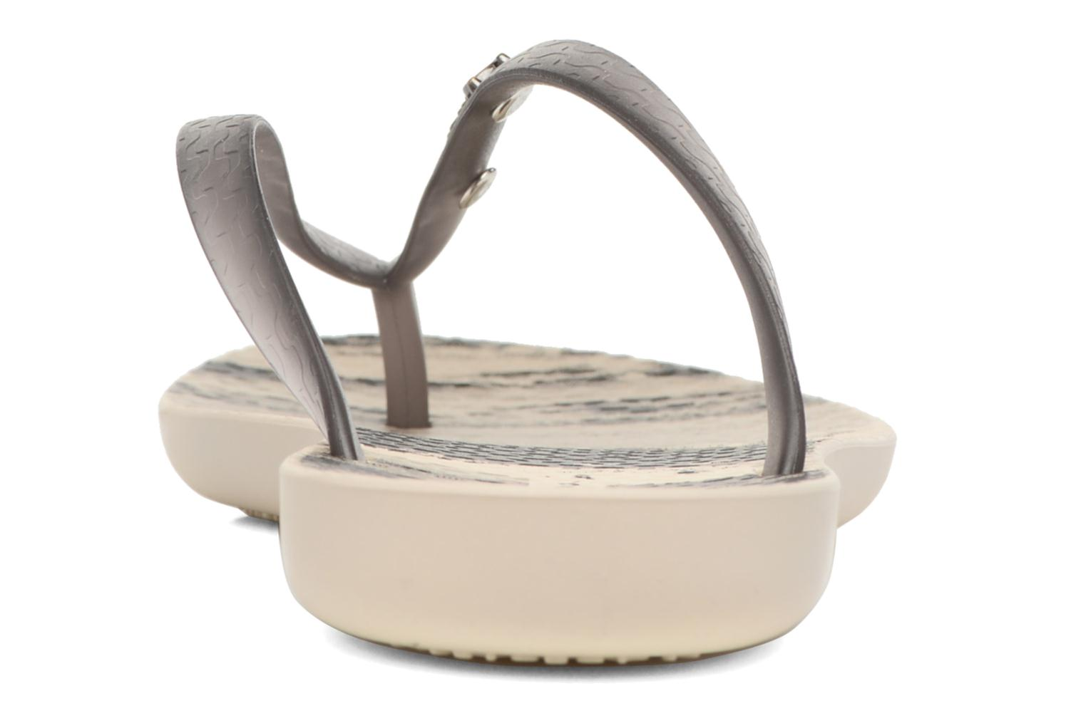 Tongs Ipanema Wave Tropical Beige vue droite