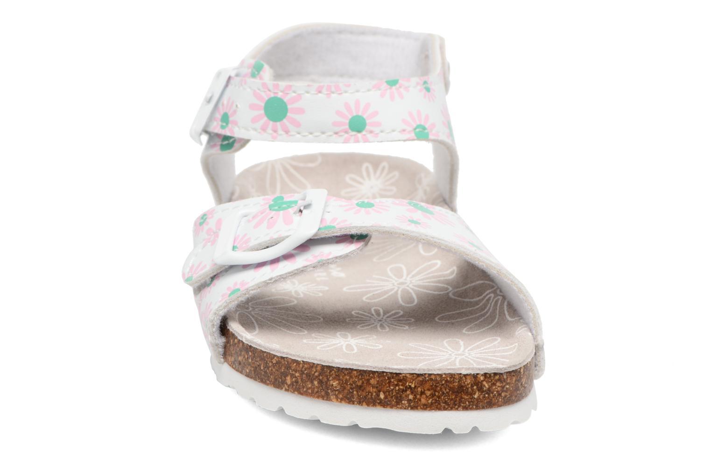 Sandales et nu-pieds Canguro Lili Sandals Blanc vue portées chaussures