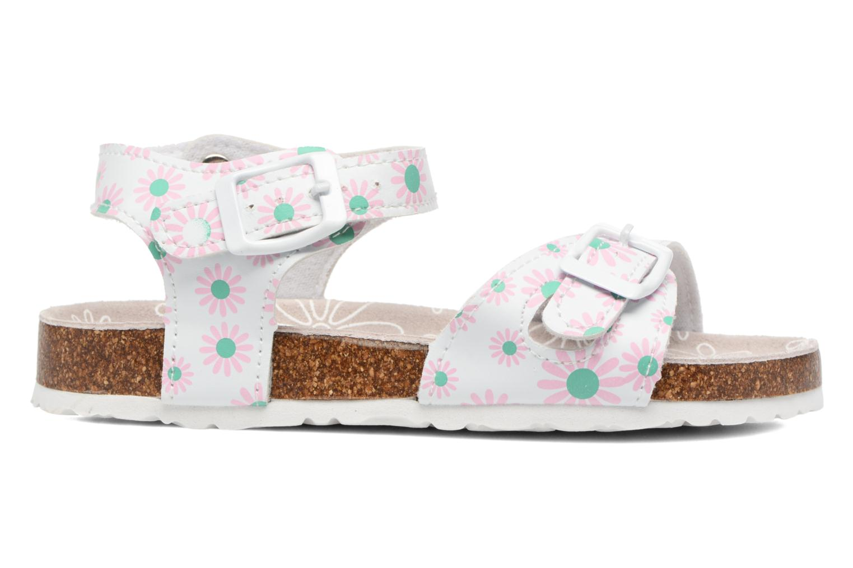 Sandales et nu-pieds Canguro Lili Sandals Blanc vue derrière