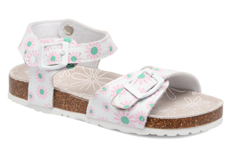Sandales et nu-pieds Canguro Lili Sandals Blanc vue détail/paire