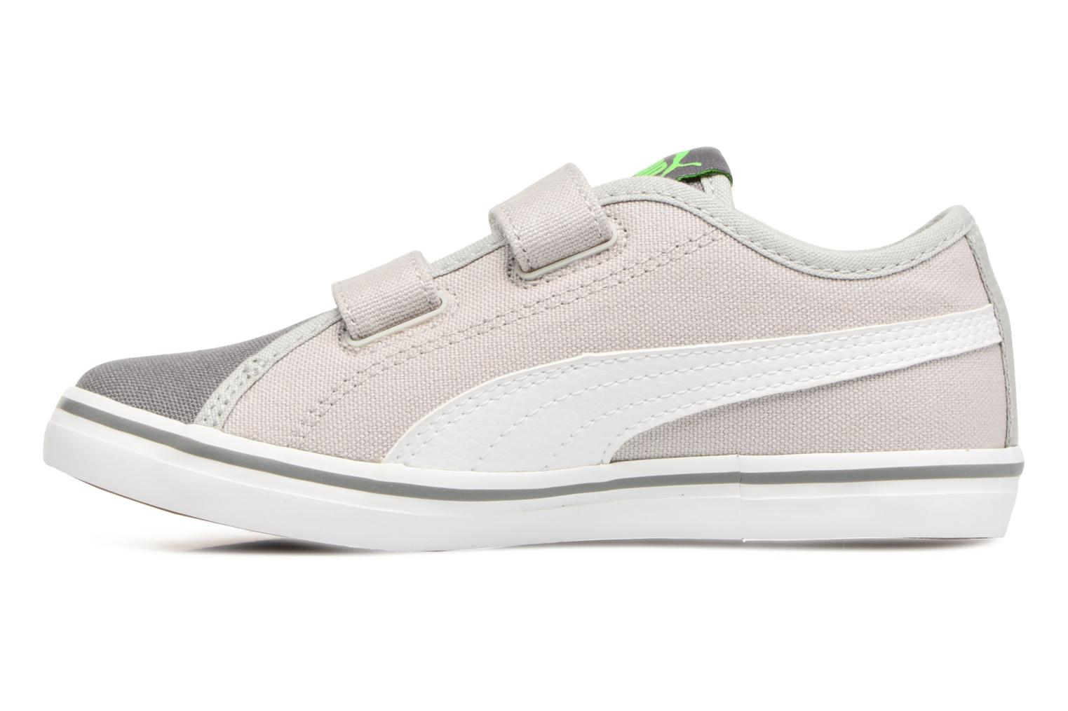 Baskets Puma Elsu v2 CV V PS Gris vue face