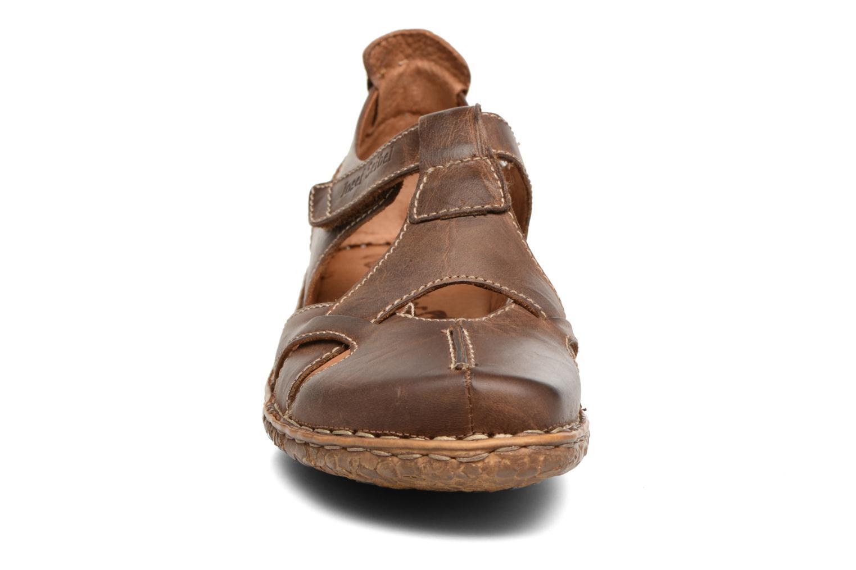 Sandales et nu-pieds Josef Seibel Rosalie 21 Marron vue portées chaussures