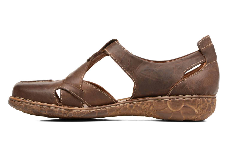 Sandales et nu-pieds Josef Seibel Rosalie 21 Marron vue face