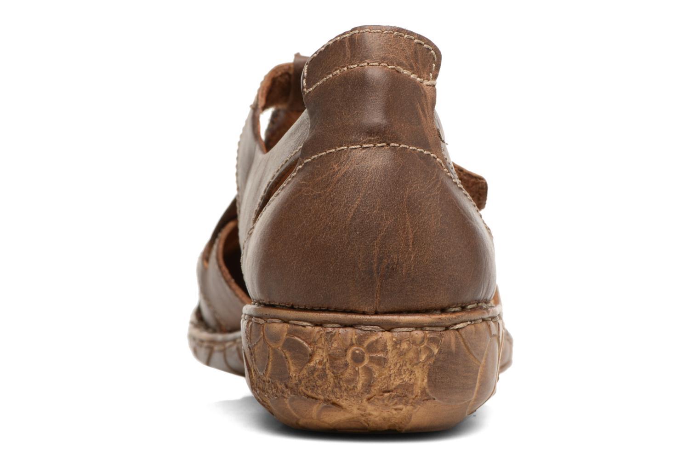 Sandales et nu-pieds Josef Seibel Rosalie 21 Marron vue droite