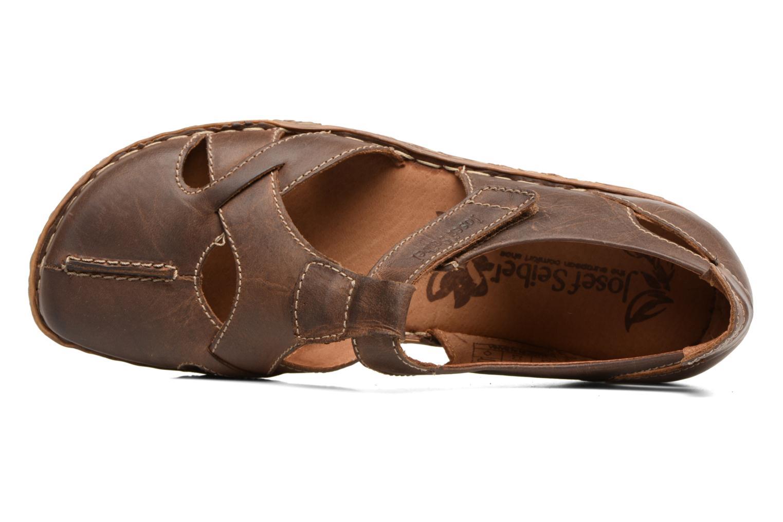 Sandales et nu-pieds Josef Seibel Rosalie 21 Marron vue gauche