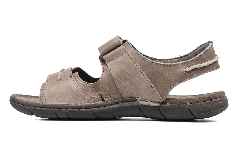 Sandales et nu-pieds Josef Seibel Paul 17 Marron vue face