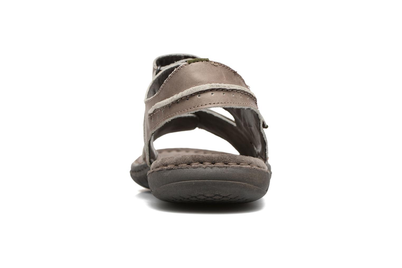 Sandales et nu-pieds Josef Seibel Paul 17 Marron vue droite