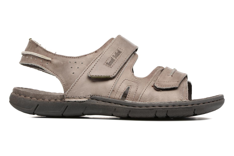 Sandales et nu-pieds Josef Seibel Paul 17 Marron vue derrière