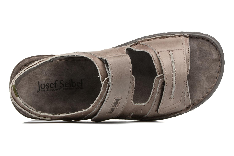 Sandales et nu-pieds Josef Seibel Paul 17 Marron vue gauche