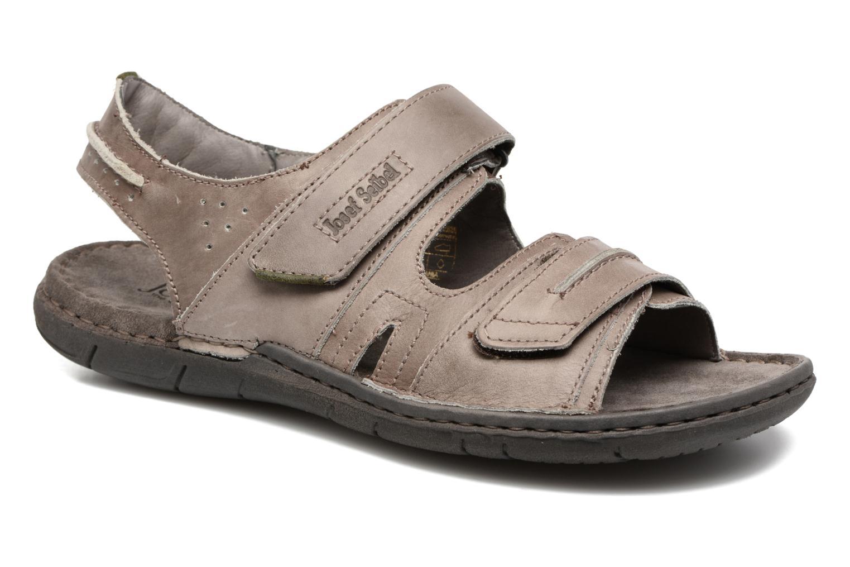 Sandales et nu-pieds Josef Seibel Paul 17 Marron vue détail/paire