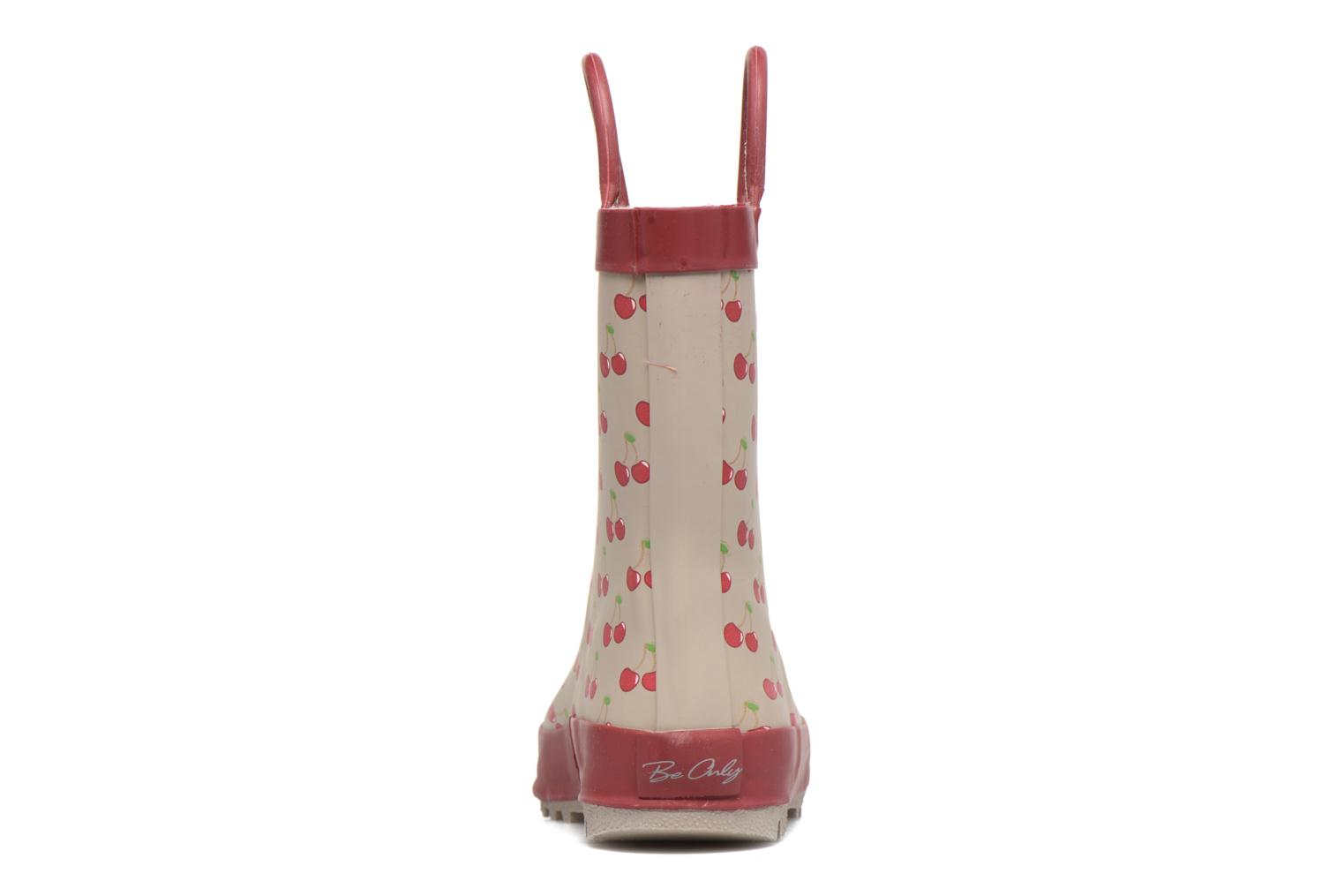 Bottes Be Only Cherry Rouge vue droite