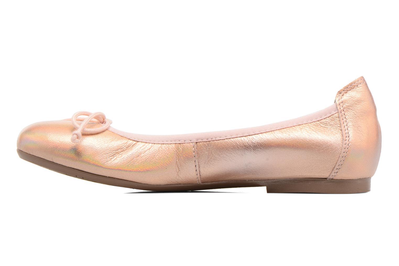 Ballerines Acebo's Camelia 2 Rose vue face