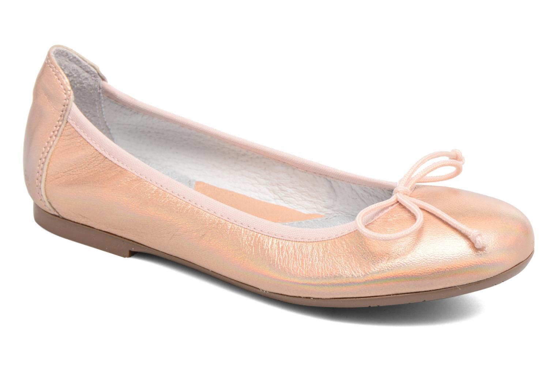 Ballerines Acebo's Camelia 2 Rose vue détail/paire