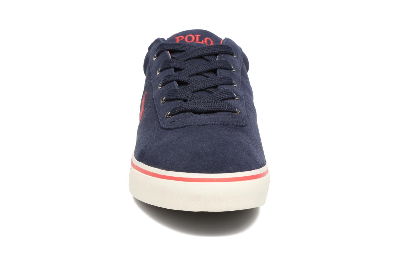 Baskets Polo Ralph Lauren Hanford-Sneakers-Vulc Bleu vue portées chaussures