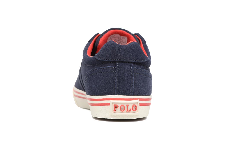Baskets Polo Ralph Lauren Hanford-Sneakers-Vulc Bleu vue droite