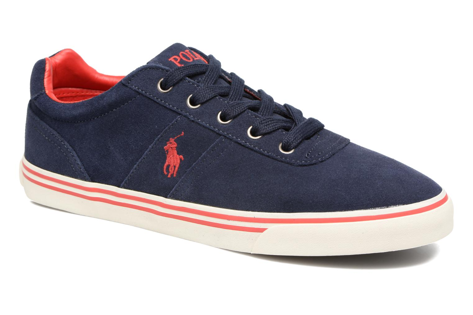 Baskets Polo Ralph Lauren Hanford-Sneakers-Vulc Bleu vue détail/paire