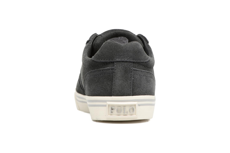 Baskets Polo Ralph Lauren Hanford-Sneakers-Vulc Gris vue droite