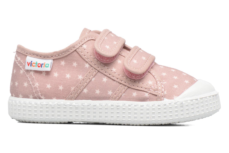 Basket Estrellas Velcros Rosa