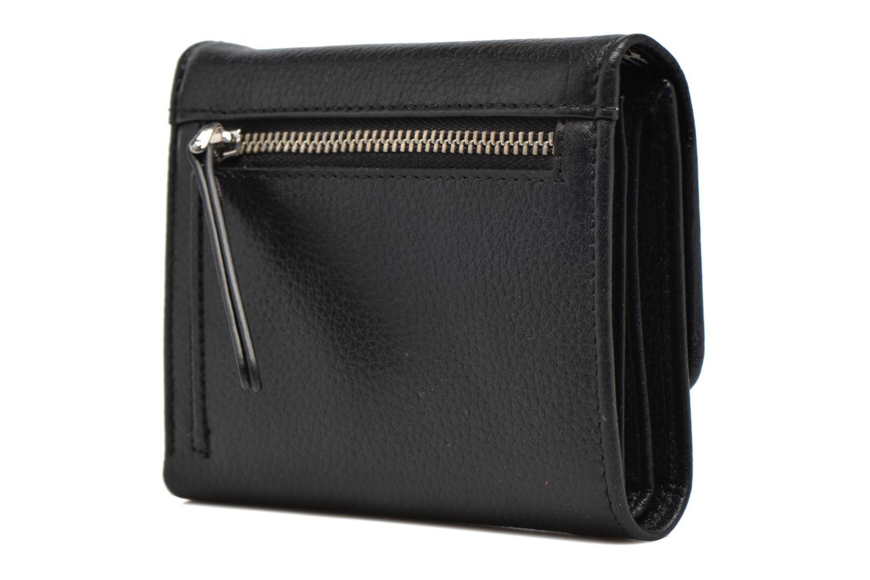 Petite Maroquinerie Esprit Classic leather city wallet Noir vue droite