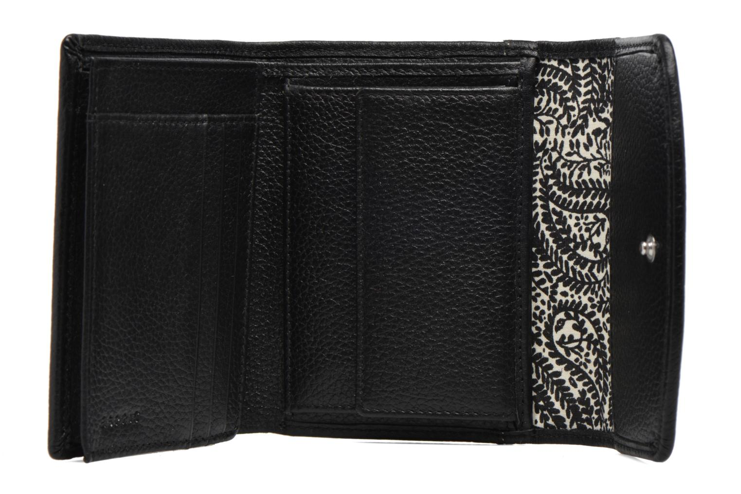 Classic leather city wallet Black