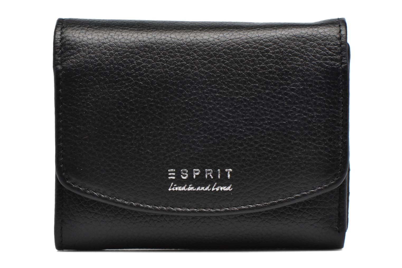 Petite Maroquinerie Esprit Classic leather city wallet Noir vue détail/paire