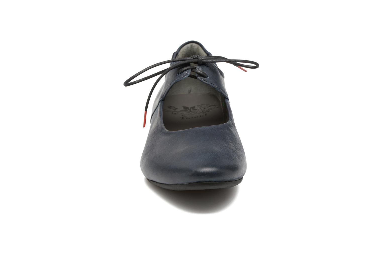 Zapatos con cordones Think! Guad 80284 Azul vista del modelo