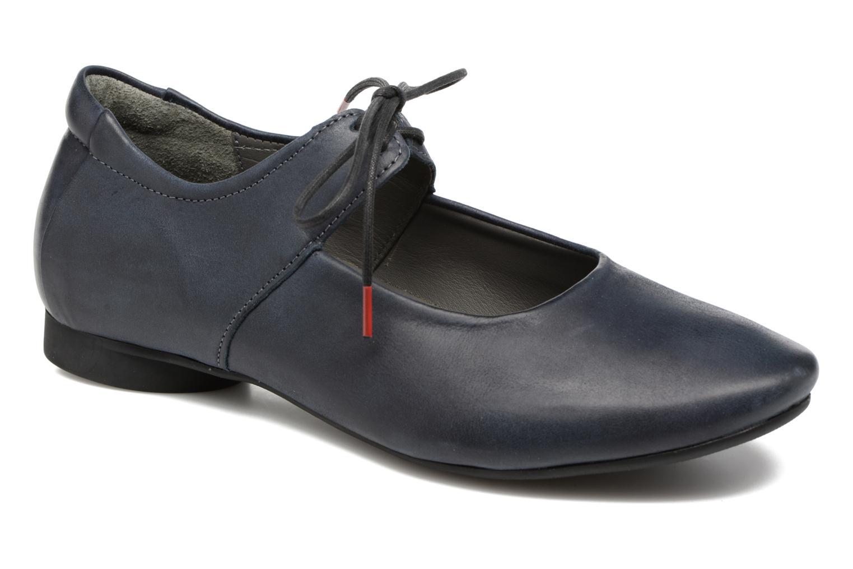 Zapatos con cordones Think! Guad 80284 Azul vista de detalle / par