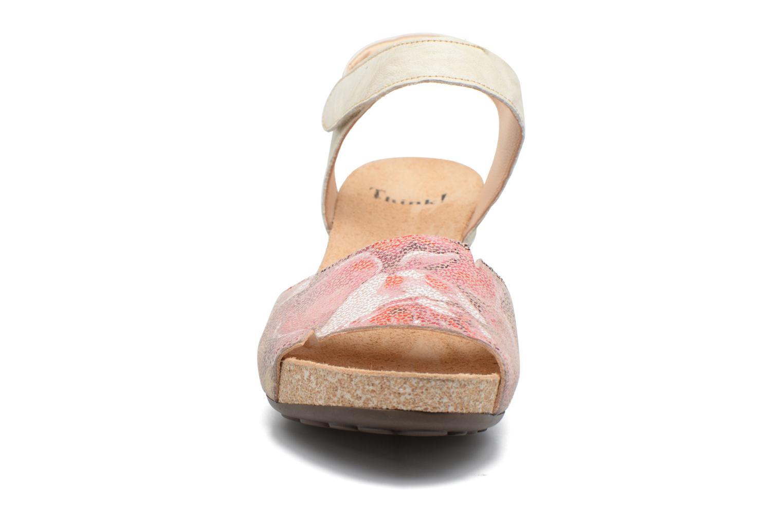 Sandales et nu-pieds Think! Traudi 80573 Rose vue portées chaussures