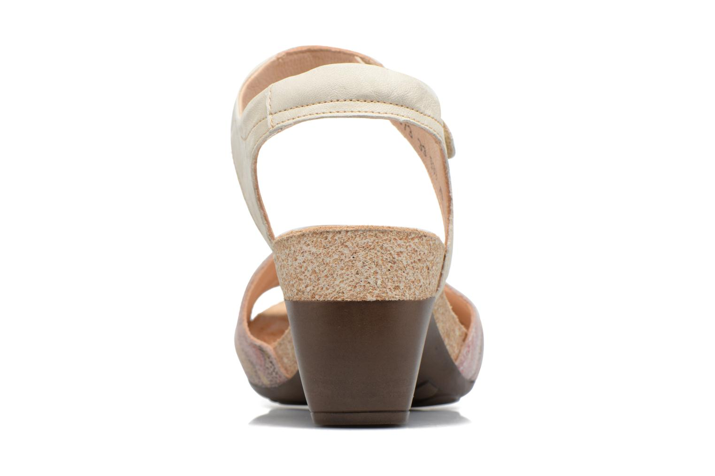 Sandales et nu-pieds Think! Traudi 80573 Rose vue droite