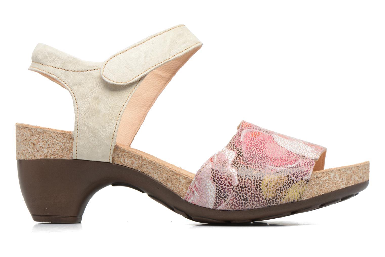 Sandales et nu-pieds Think! Traudi 80573 Rose vue derrière