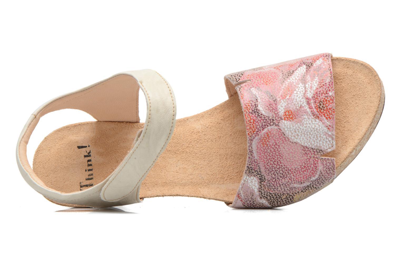 Sandales et nu-pieds Think! Traudi 80573 Rose vue gauche