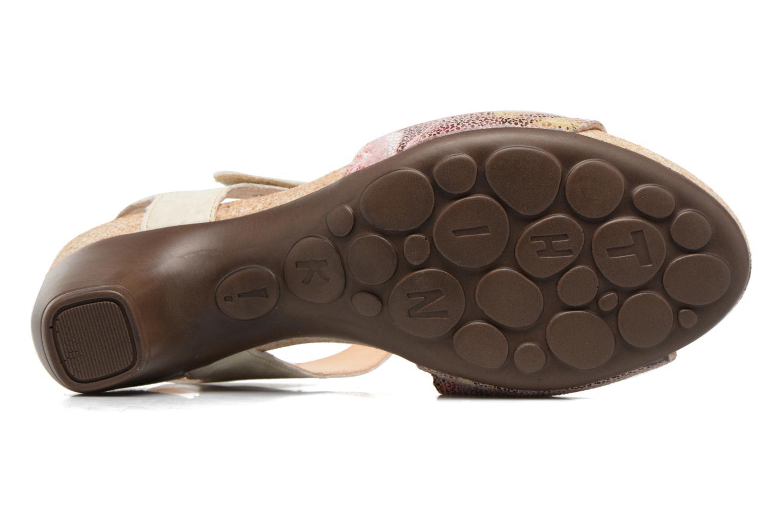 Sandales et nu-pieds Think! Traudi 80573 Rose vue haut