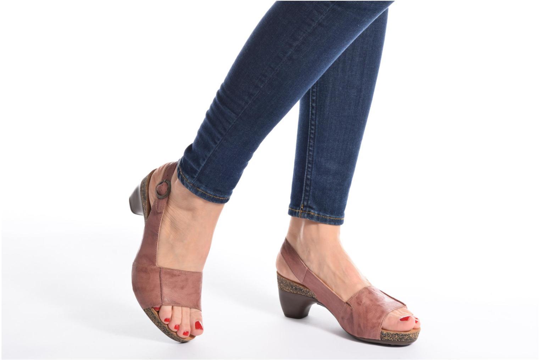Sandales et nu-pieds Think! Traudi 80567 Rose vue bas / vue portée sac
