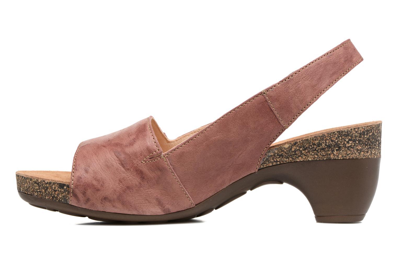 Sandales et nu-pieds Think! Traudi 80567 Rose vue face