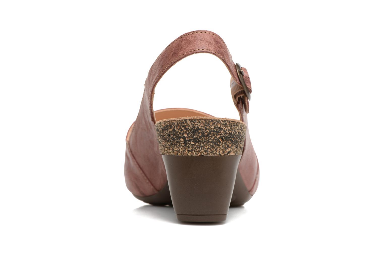 Sandales et nu-pieds Think! Traudi 80567 Rose vue droite