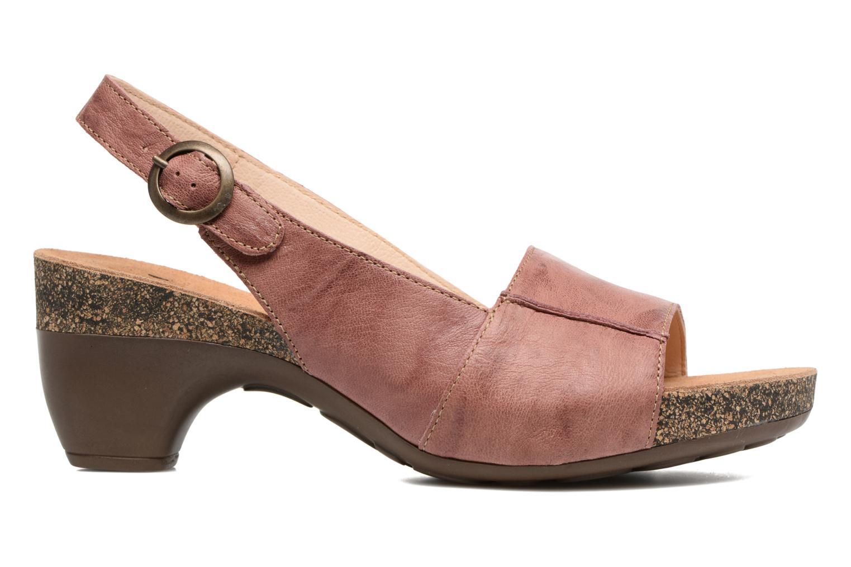 Sandales et nu-pieds Think! Traudi 80567 Rose vue derrière